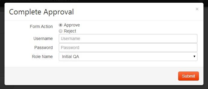 HPI Complete Approval Task